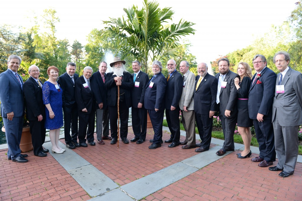 The inaugural class of the Long Island Journalism Hall of Fame, 2014.