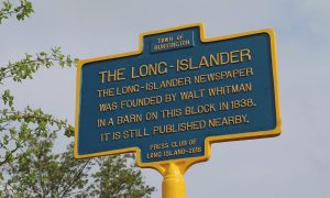 PCLI spurs new historic sign for The Long-Islander