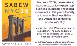 SABEW hosting conference in NYC
