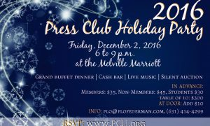 PCLI Holiday Party tickets available, student tickets are FREE!